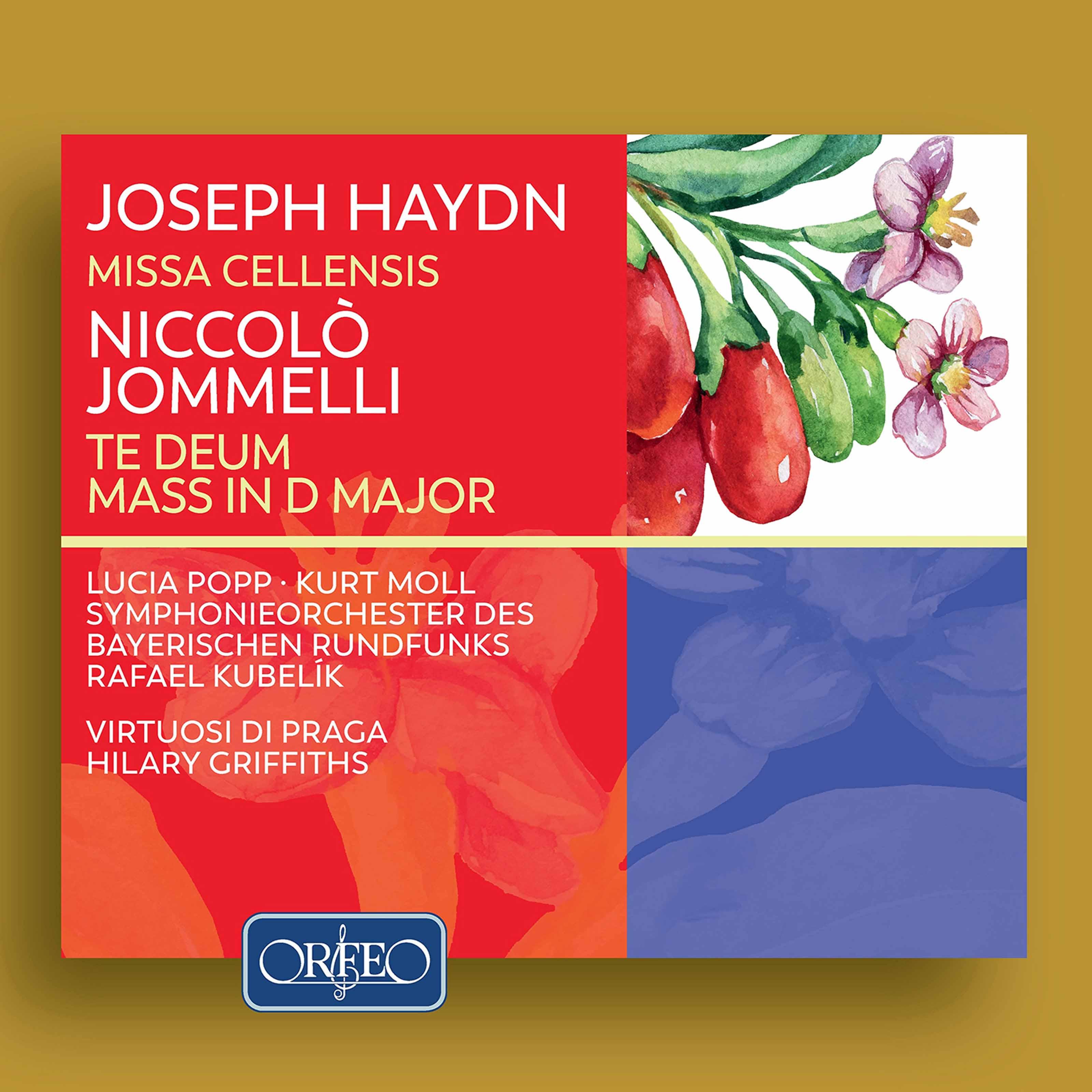 Haydn: Missa Cellensis - Jommelli: Te Deum & Mass in D Major Classical Orfeo