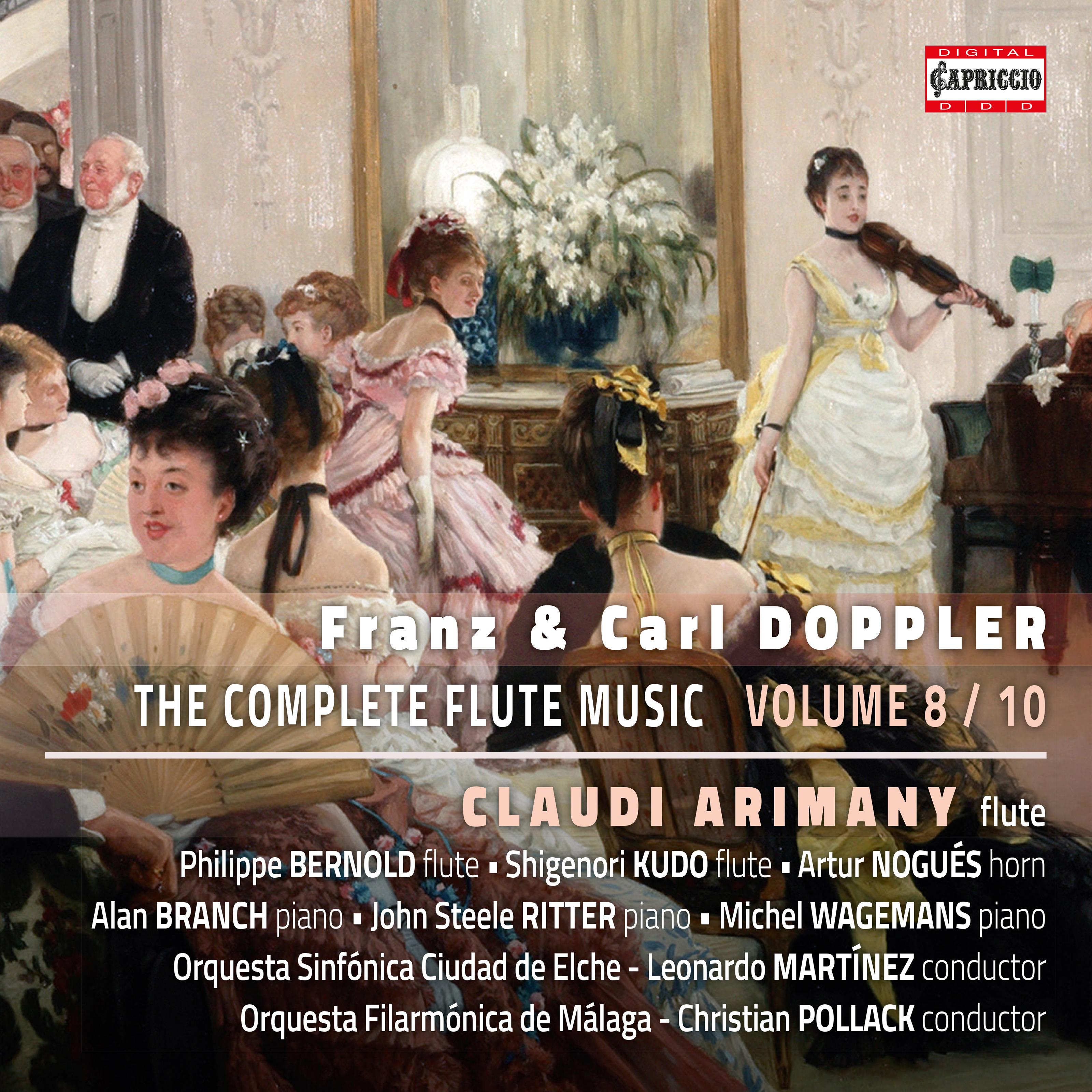 F  & K  Doppler: The Complete Flute Music, Vol  8 Classical