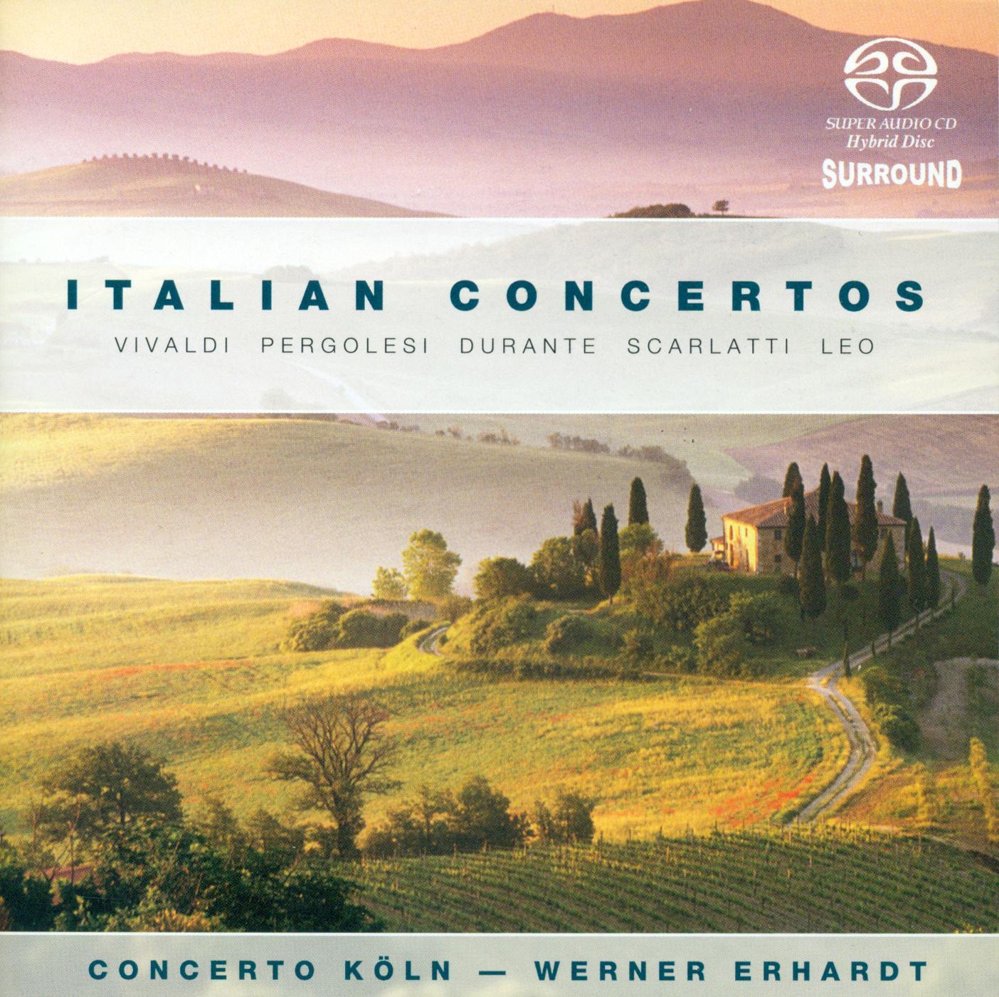 Orchestral Music Italian Concertos Vivaldi A