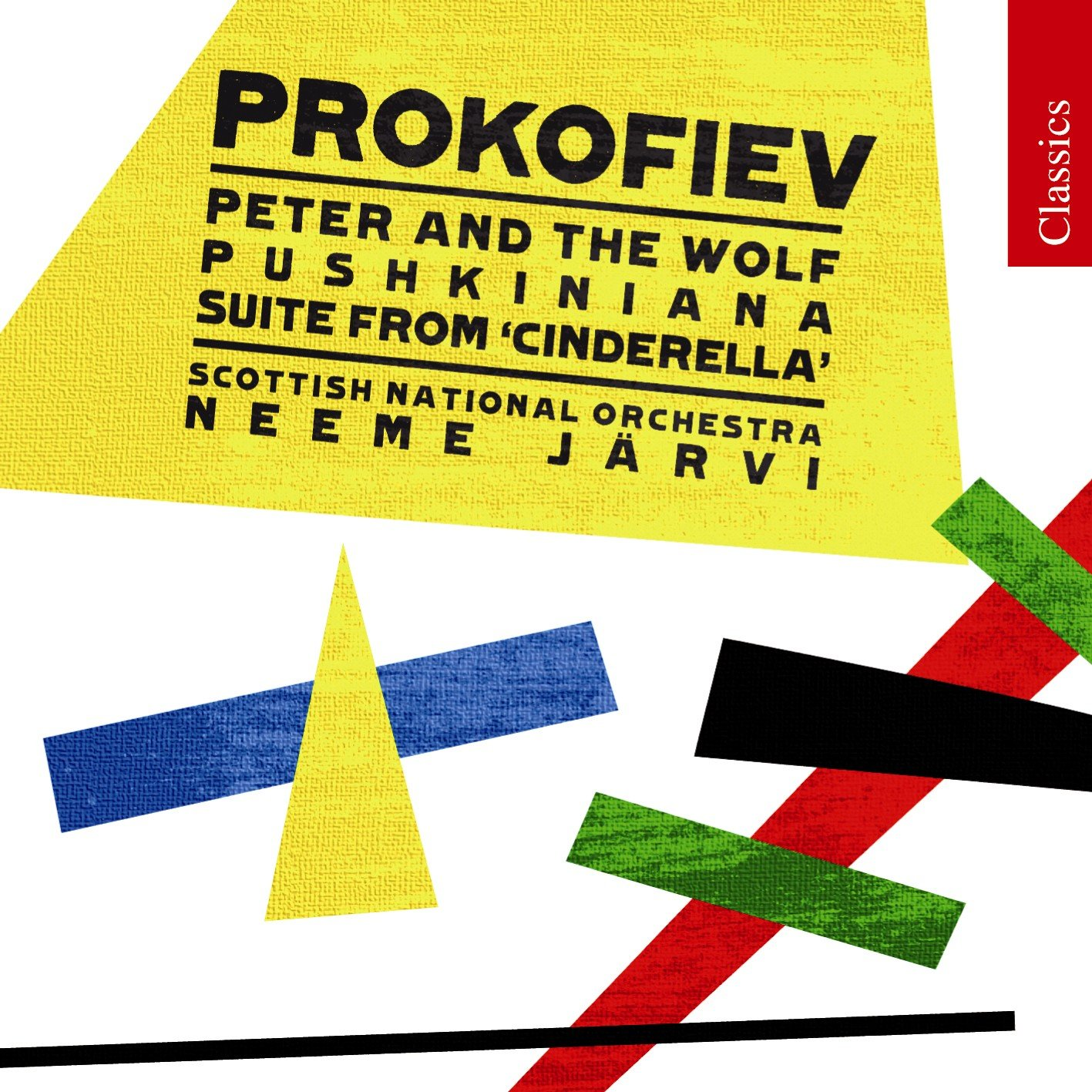 Prokofiev: Peter and the Wolf/ Cinderella/Pushkiniana Orchestral ...