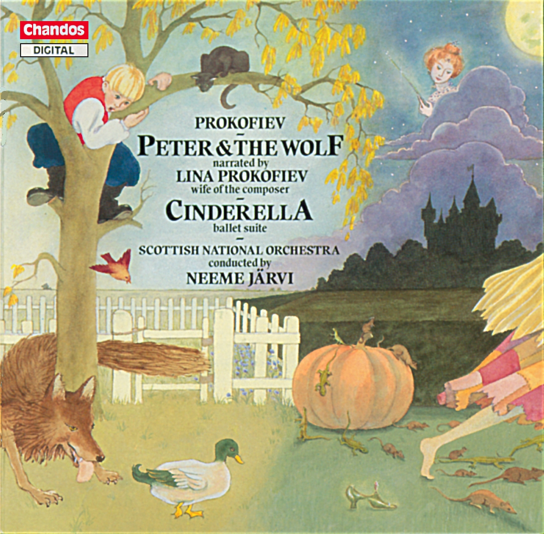 Prokofiev: Peter And The Wolf Orchestral & Concertos Russian Chandos