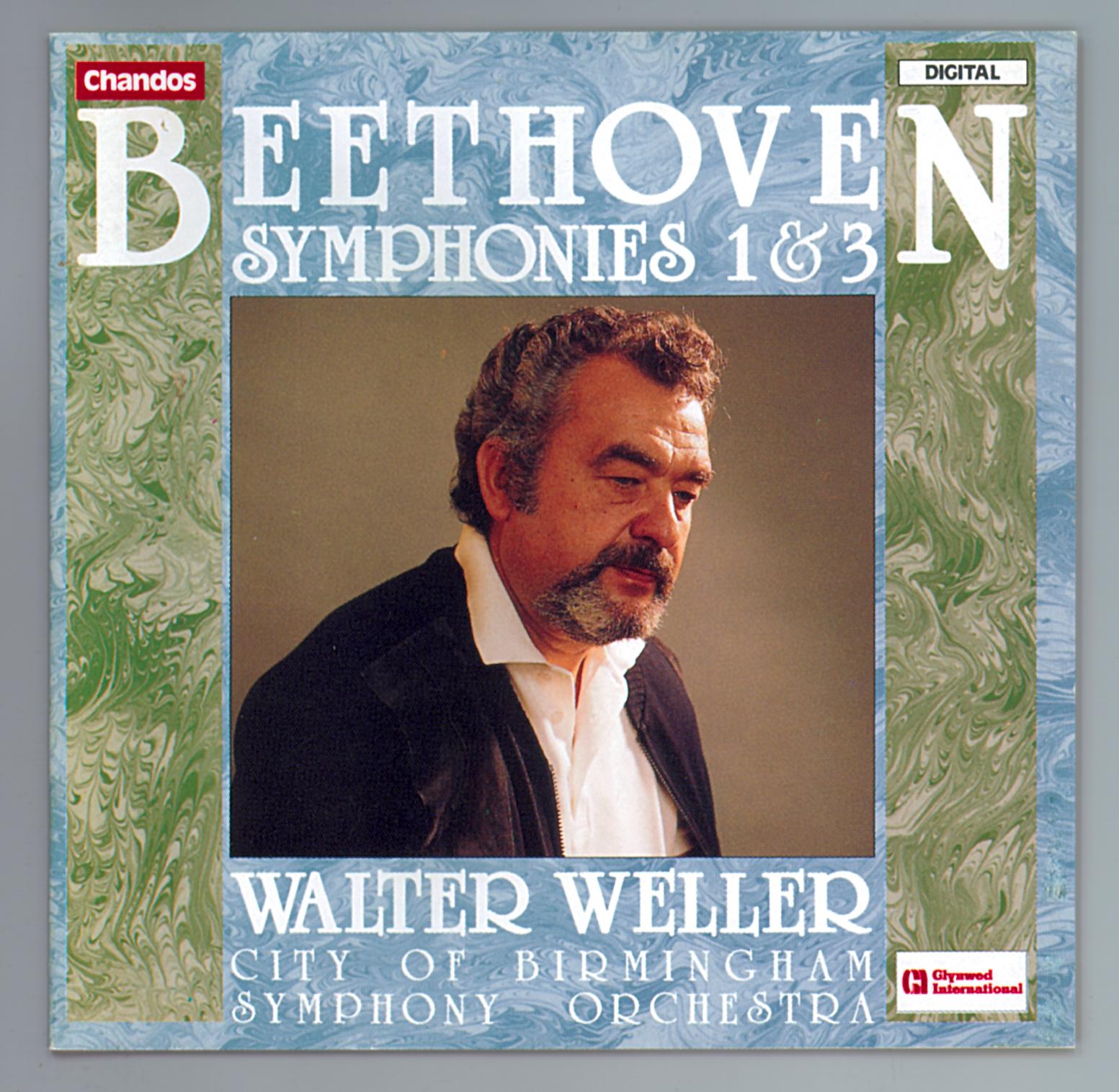 Beethoven: Symphonies Nos 1 & 3 Orchestral & Concertos Chandos