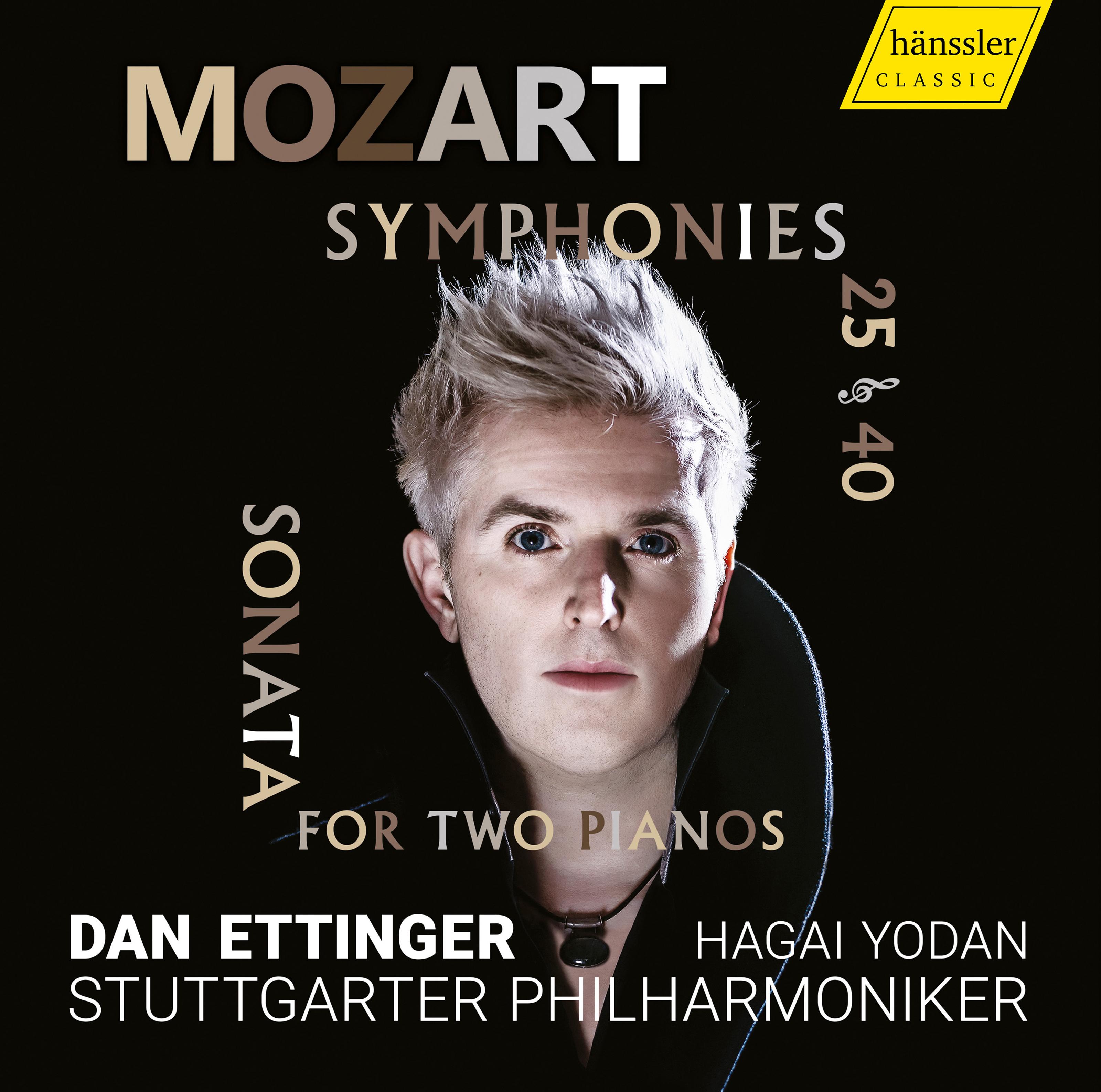 Mozart: Symphonies Nos  25 and 40 & Sonata for 2 Pianos, K  448