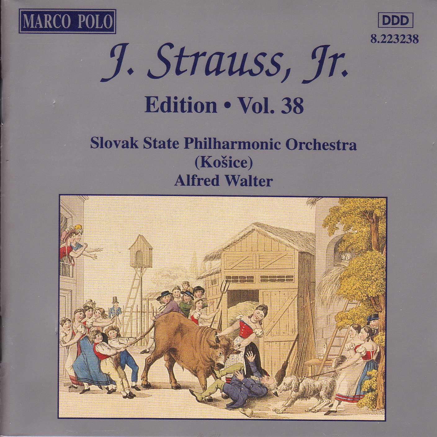 STRAUSS II, J.: Edition - Vol. 38 Classical Naxos - Marco Polo