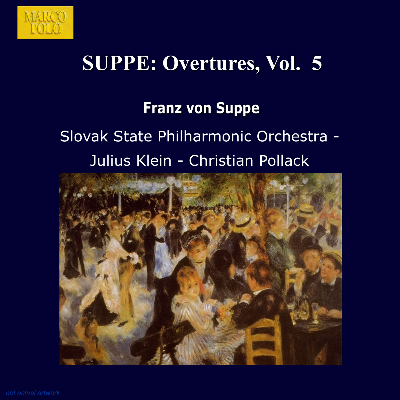 SUPPE: Overtures, Vol  5 Classical Naxos - Marco Polo