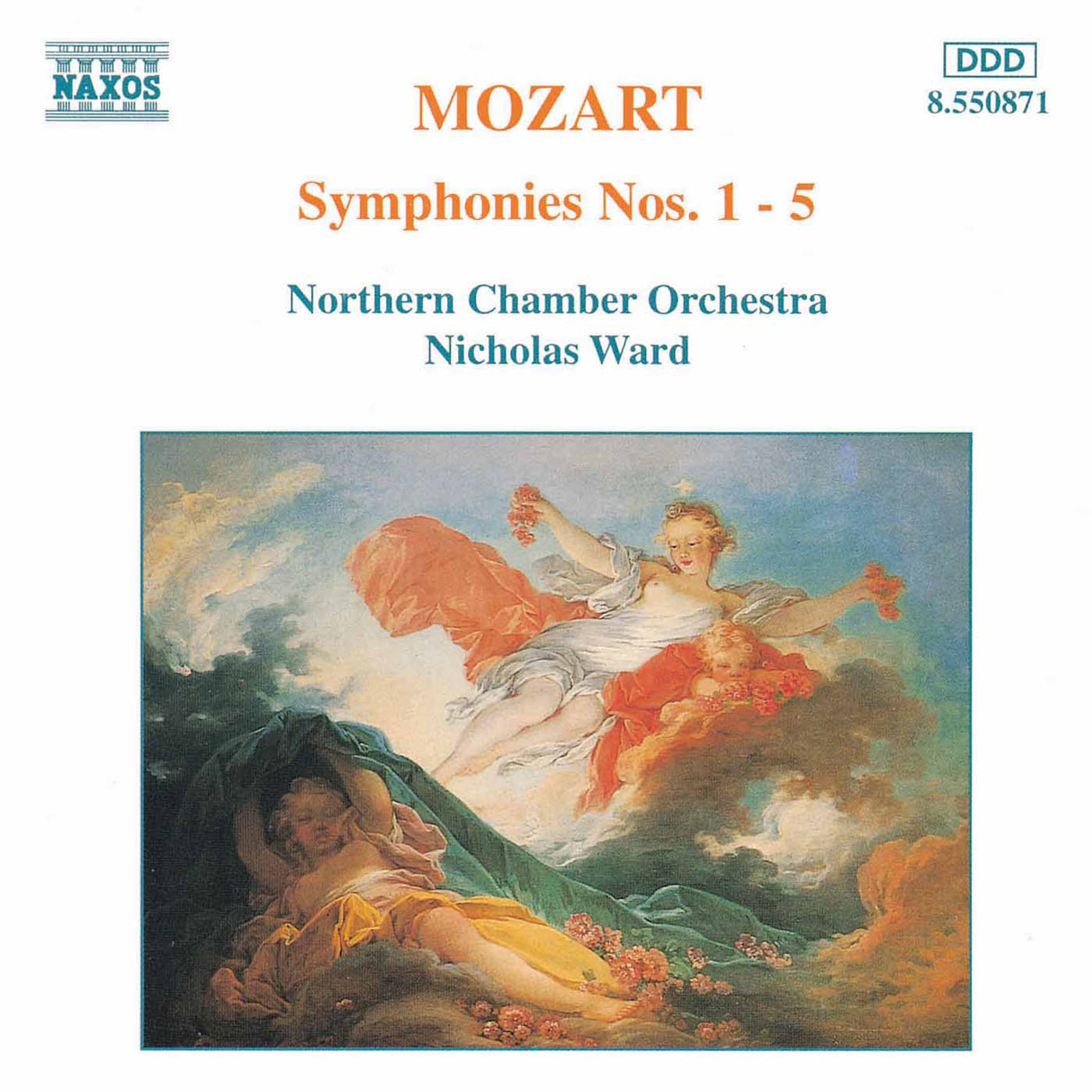 MOZART: Symphonies Nos  1 - 5 Classical Naxos