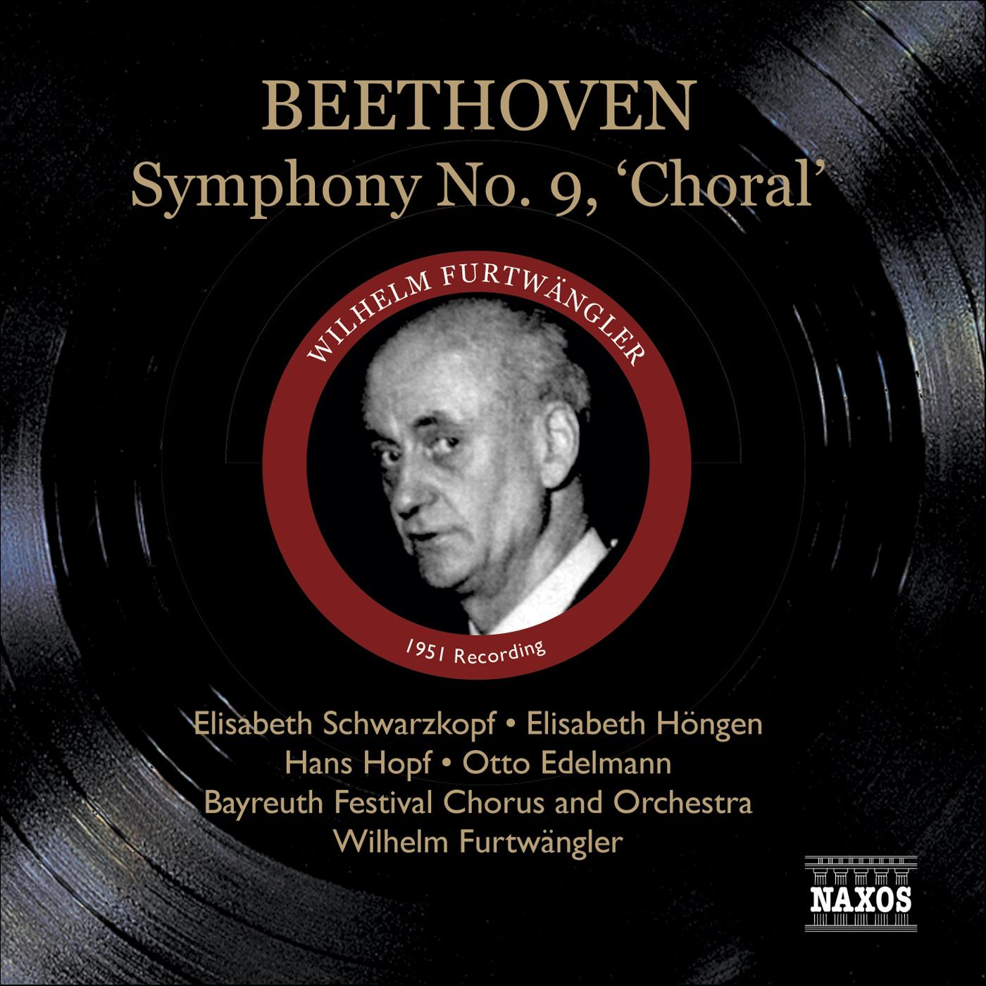 BEETHOVEN: Symphony No  9 (Furtwangler) (1951) Classical Naxos