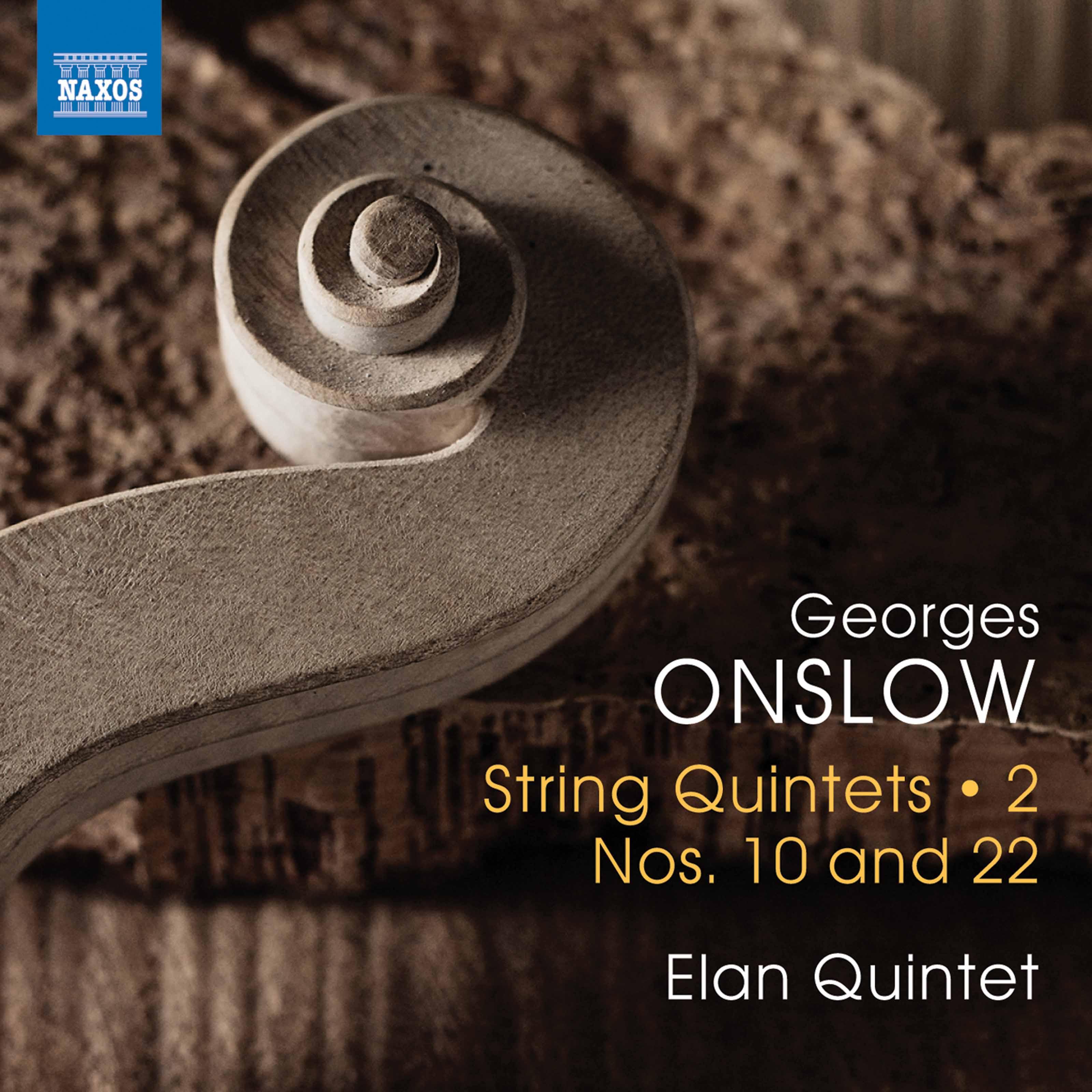 Onslow: String Quintets, Vol  2 – Nos  10 & 22 Classical