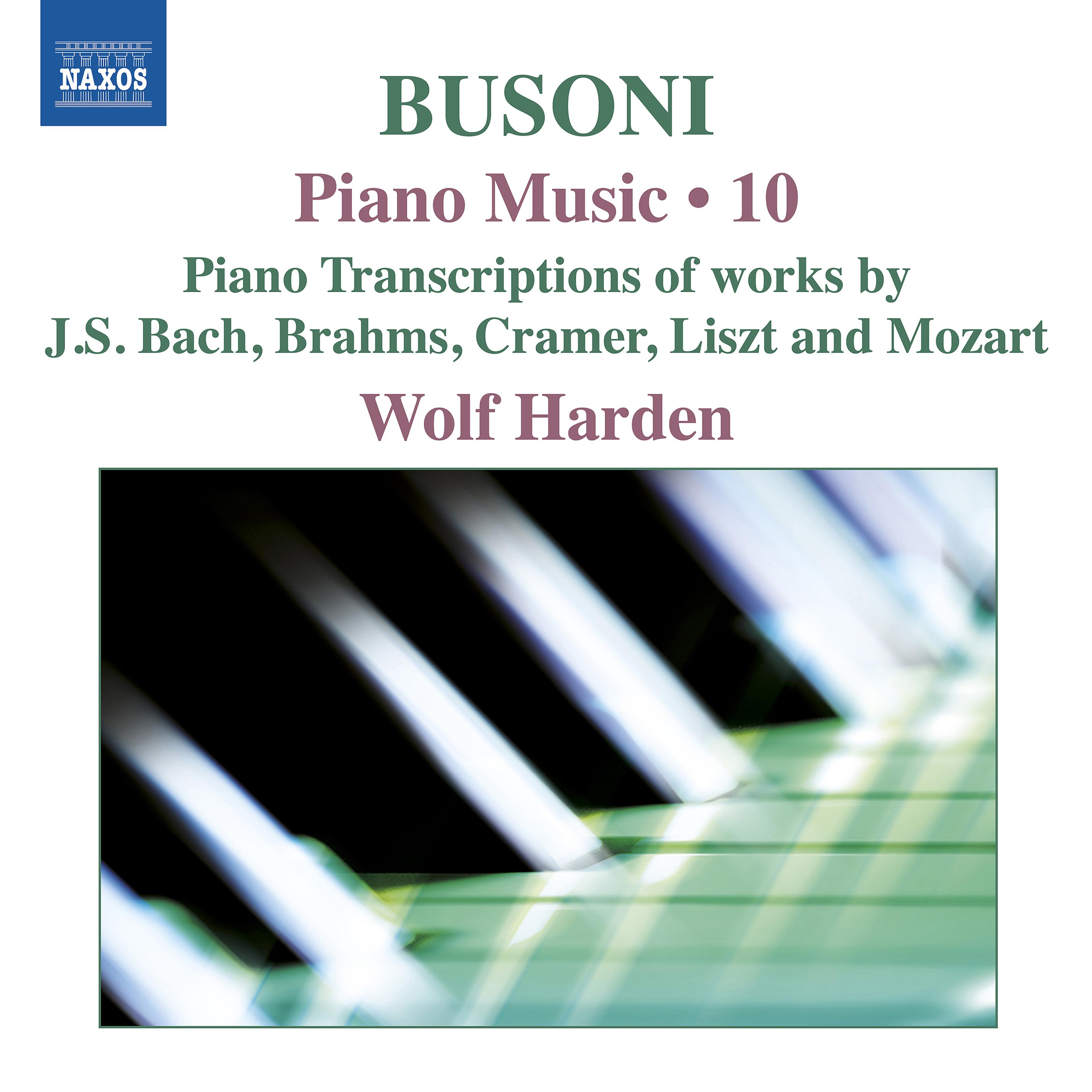 Busoni: Piano Music, Vol  10 Classical Naxos