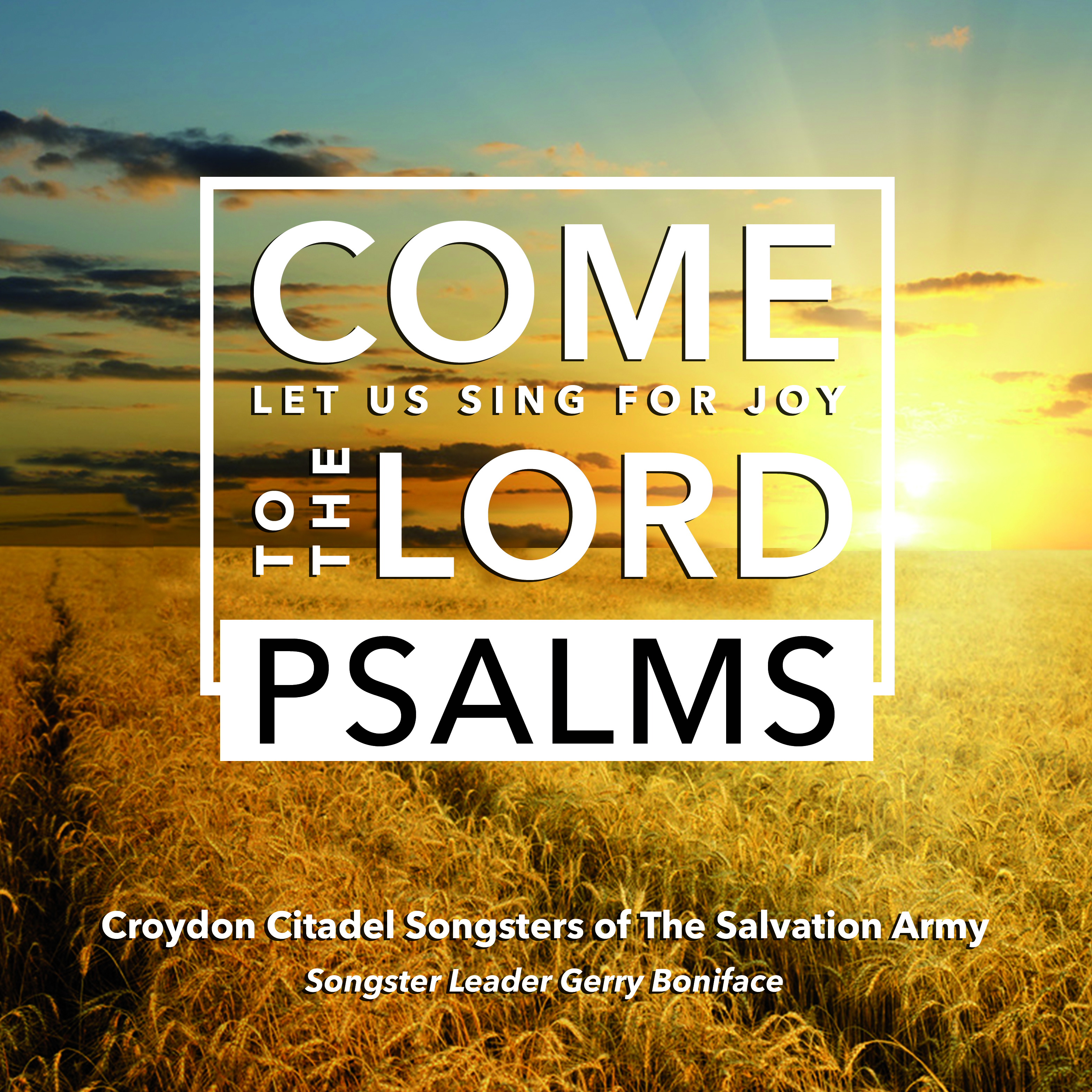 Come Let US Sing For Joy To The Lord Psalms Vocal & Song SP and S