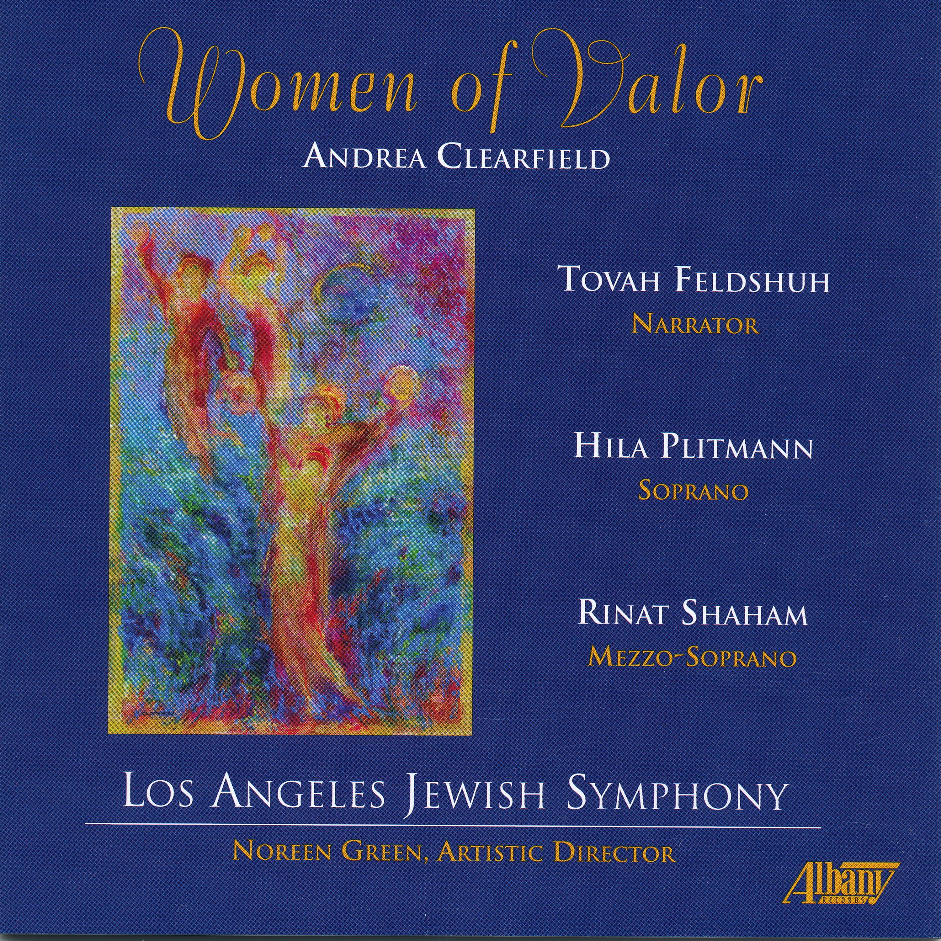 Oratorio by American composer Andrea Clearfield Classical Albany Records