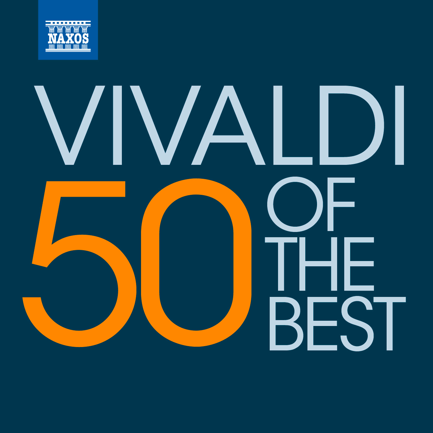 50 of the best: Vivaldi Orchestral & Concertos Classical Naxos