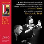 Rossini, Schumann & Mozart: Orchestral Music (Live)