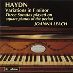 Haydn, J.: Varations in F minor / 3 Sonatas played on square pianos of the period