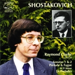Shostakovich, D.: Sonatas 1 & 2 / Prelude & Fugue in D minor / 24 Preludes