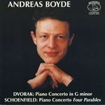 Dvorak, A.: Piano Concerto / Schoenfield, P.: 4 Parables