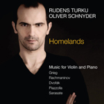 Homelands - Music for Violin and Piano