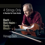 4 Strings Only - A Recital for Solo Violin