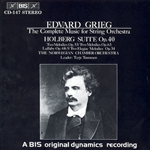 GRIEG: Complete Music for String Orchestra (The)