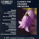 CLASSICS FOR CHAMBER ORCHESTRA, Vol. 1
