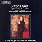 GRIEG: Symphony in C minor /  I Host (In Autumn)