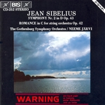 SIBELIUS: Symphony No. 2 in D major, Op. 43 /  Romance in C major, Op. 42