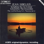 SIBELIUS: Oceanides (The), Op. 73 /  Symphony No. 4 in A minor, Op. 63