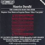 DURUFLE: Complete Music for Choir