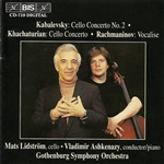 KABALEVSKY, D.B.: Cello Concerto No. 2 /  KHACHATURIAN, A.I.: Cello Concerto in E minor (Lidstrom)