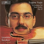 YSAYE: Six Sonatas for Solo Violin, Op. 27