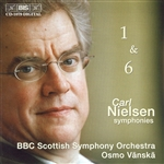 NIELSEN, C.: Symphonies Nos. 1 and 6