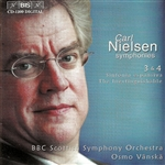 NIELSEN, C.: Symphonies Nos. 3 and 4