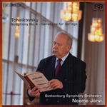 TCHAIKOVSKY, P.I.: Symphony No. 4 /  Serenade in C major / Elegy in Honour of Ivan Samarin (Gothenburg Symphony, N. Jarvi)