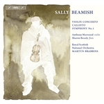 BEAMISH, S.: Violin Concerto /  Callisto / Symphony No. 1 (Marwood, Royal Scottish National Orchestra, Brabbins)