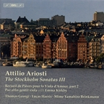 ARIOSTI, A.: Stockholm Sonatas for Viola d'amore, Vol. 3 (Georgi)