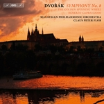 DVORAK, A.: Symphony No. 8 / The Golden Spinning-Wheel / Scherzo capriccioso (Malaysian Philharmonic, Flor)
