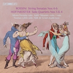 Rossini: Sonatas for Strings Nos. 4-6 – Hoffmeister: Double Bass Quartets Nos. 3 & 4