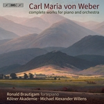 Weber: Complete Works for Piano & Orchestra