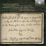 Organ Music - READING, J. / BLOW, J. / CROFT, W. / GREENE, M. / JAMES, J. (The John Reading Manuscripts of Dulwich College) (Bonci)
