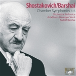 SHOSTAKOVICH, D.: Chamber Symphonies (Orchestra Sinfonica di Milano, Barshai)