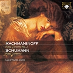 RACHMANINOV, S.: Piano Concerto No. 2 / SCHUMANN, R.: Piano Concerto, Op. 54 (K. Würtz, North West German Philharmonic, Beek)