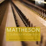Mattheson:12 Suites for Harpsichord