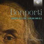 Bonporti: Sonatas Op. 2 for 2 Violins and B.C.