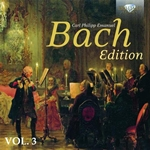 C.P.E. Bach: Edition, Vol. 3