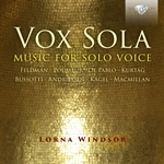 Vox Sola - Music for Solo Voice