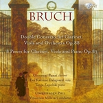 Bruch: Double Concerto for Clarinet, Viola and Orchestra, Op. 88 / 8 Pieces for Clarinet, Viola and Piano, Op. 83
