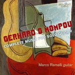 Gerhard and Mompou: Complete Music for Solo Guitar