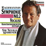 RACHMANINOV, S.: Symphony No. 2 / Vocalise (Stuttgart Radio Symphony, Marriner)