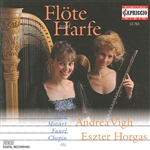 Flute and Harp Recital: Horgas, Eszter / Vigh, Andrea - BACH, J.S. / FAURE, G. / MOZART, W.A. / RAVEL, M. / IBERT, J. / KUHLAU, F. (Flute and Harp)