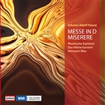 HASSE, J.A.: Mass in D minor / Miserere in C minor (Max)